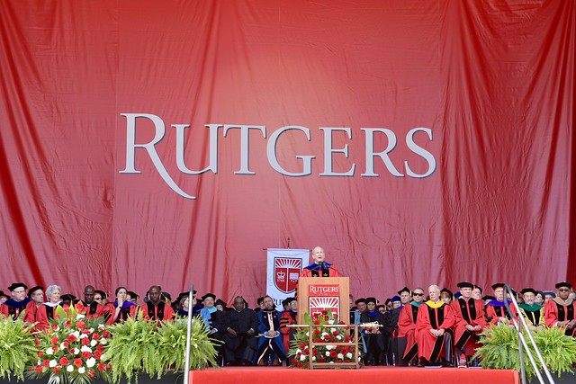 Rutgers University Commencement 2019