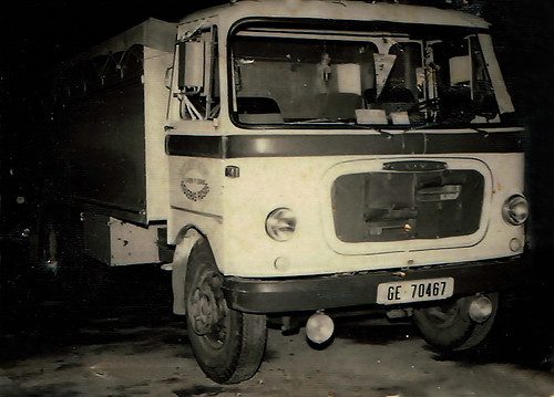 camio Sava SH Transports Negre Roses
