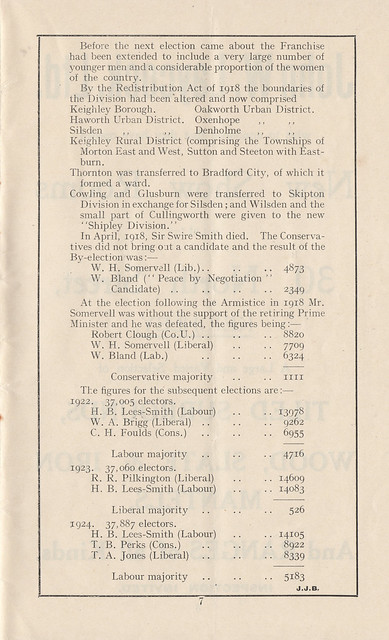Liberal Bazaar 1928   KEIGHLEY & DISTRICT LOCAL HISTORY SOCIETY