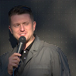 Tommy Robinson MEP ralley in Larches, Preston