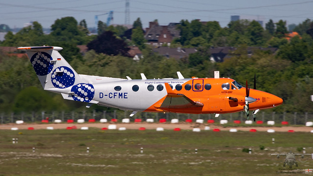 🇩🇪 D-CFME B350 Flight Calibration Services