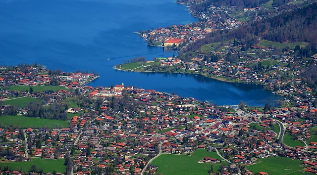 Rottach-Egern - From Above