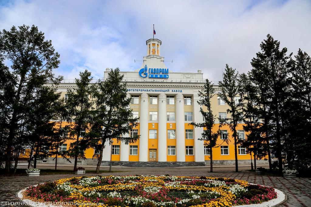 Великие заводы России: Омский НПЗ