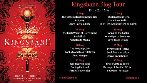 Kingsbane Blog Tour Final