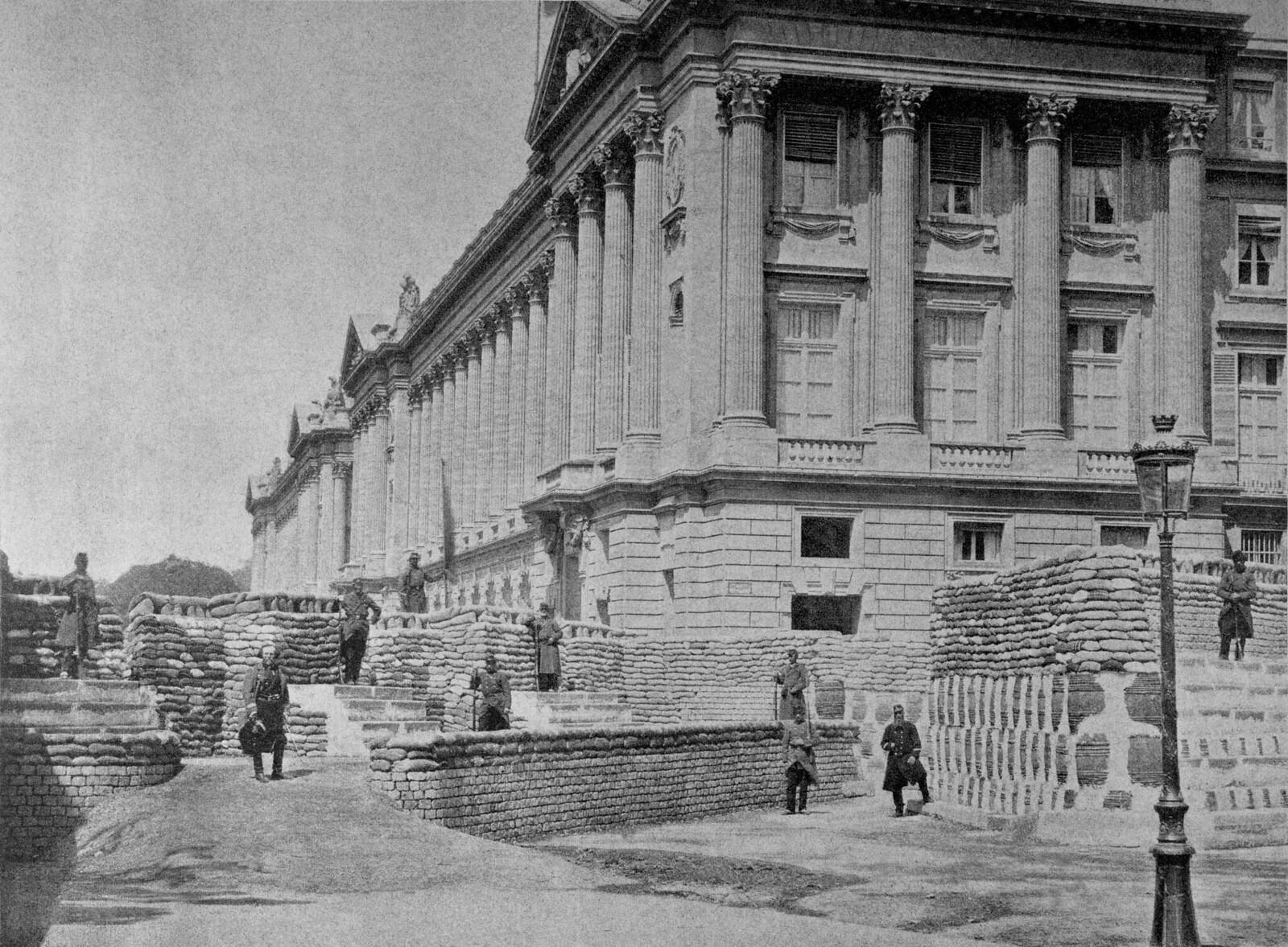 1871. Баррикада на площади Согласия в мае
