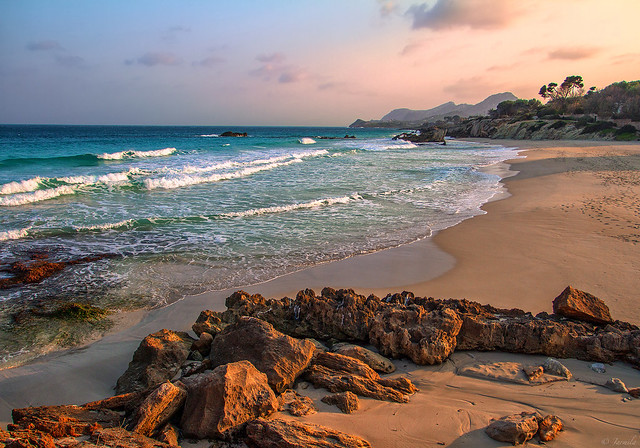Explore Cala Ratjada by sunset time