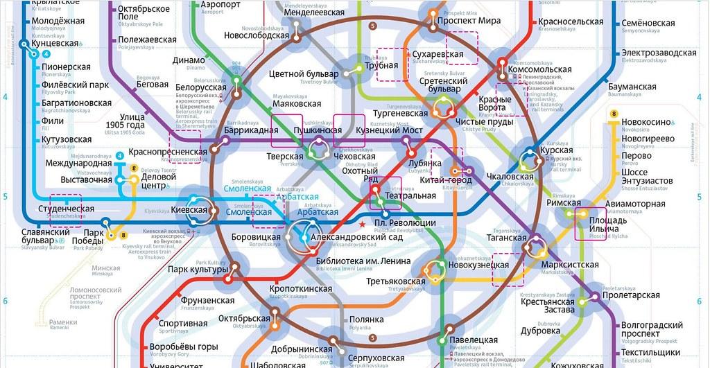 Теория близости и московское метро