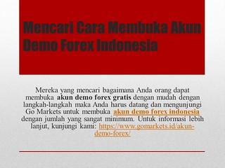 Akun Demo Forex Indonesia Akun Demo Forex Gratis Oleh Go Flickr