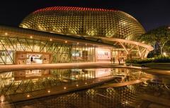 Esplanade Theatre Night