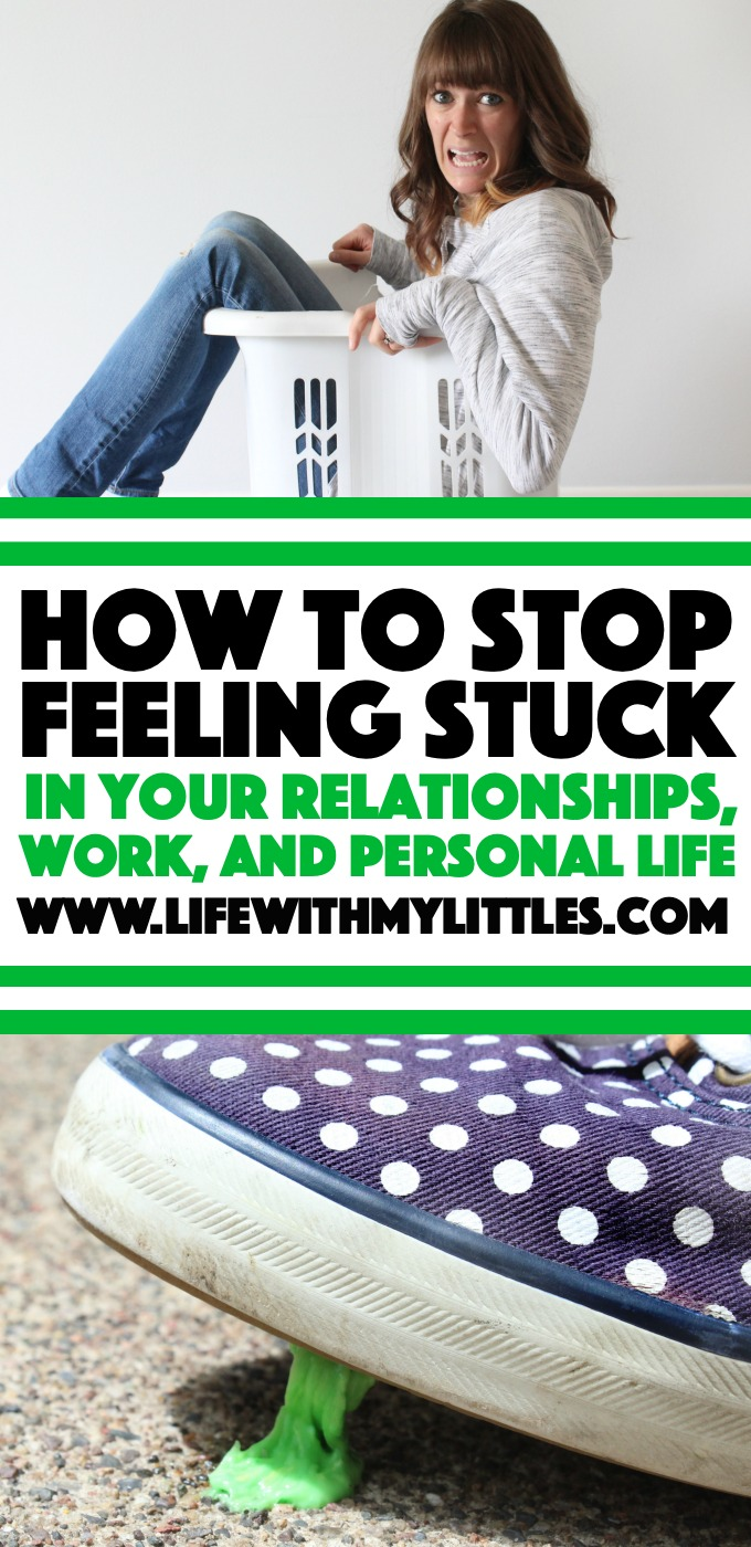 This post all about how to stop feeling stuck is perfect for anyone who is lacking motivation, not sure where to go, or feeling like they want to give up! Seven tips to help you get un-stuck, get back on track, and find fulfillment in your personal life, relationships, and work!