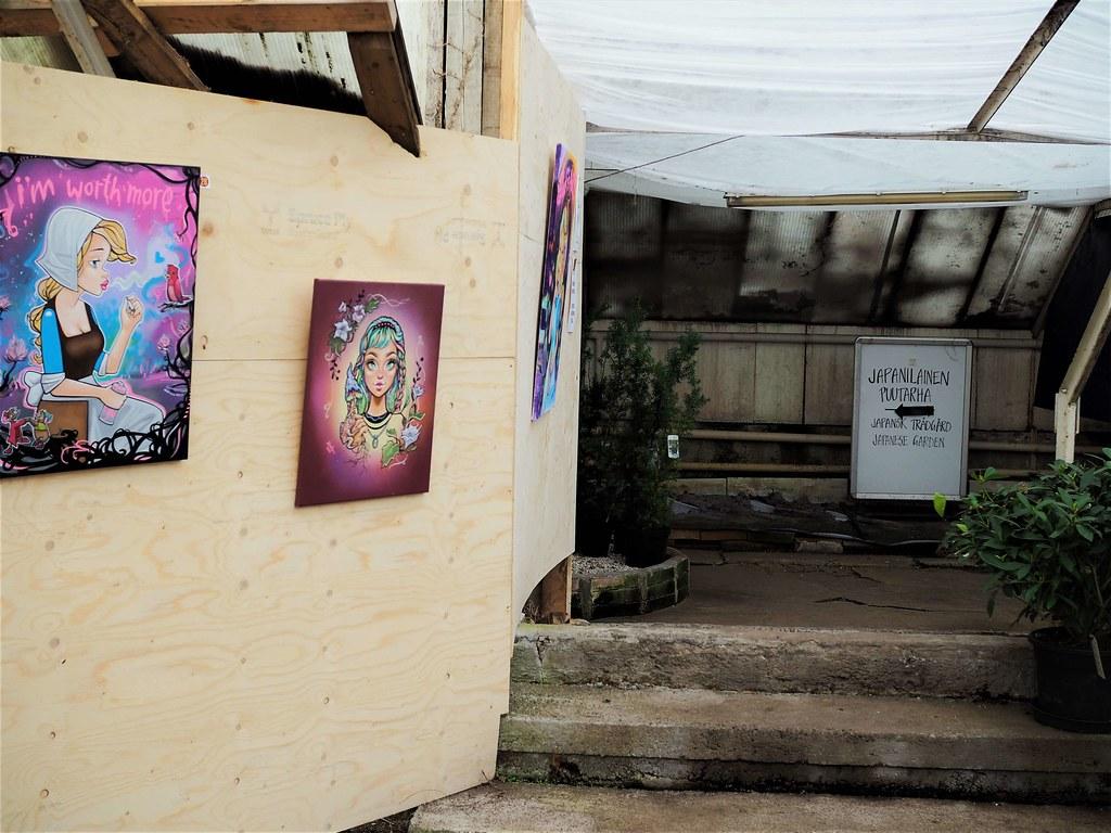 Viherpaja taidennäyttely
