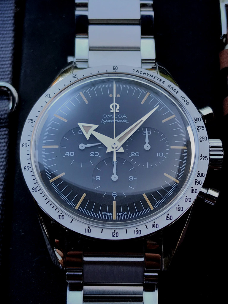 Vends - [Vendue] OMEGA Speedmaster Broad Arrow 57 Trilogy 60th anniversary 47112768544_cf367bff30_b