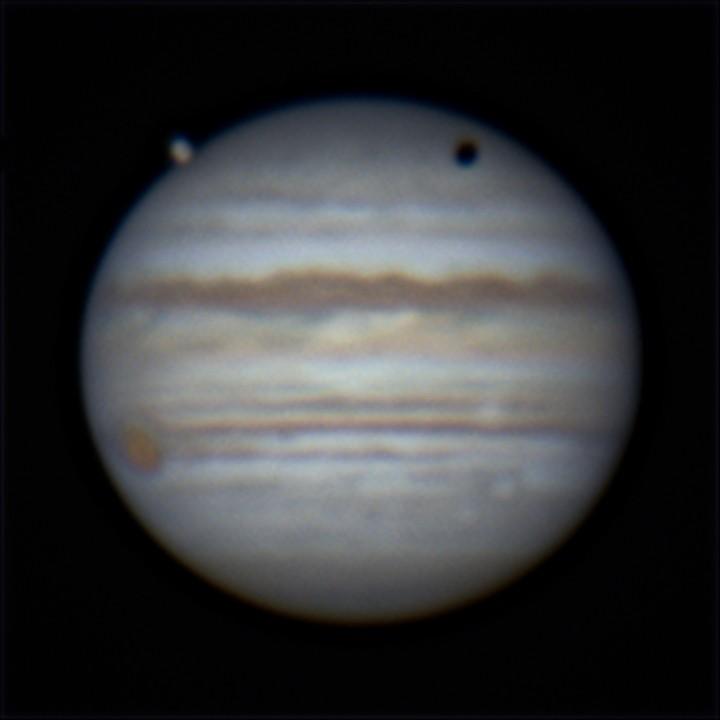 木星とガニメデ (2019/5/22 02:31)