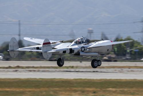 P-38L Take Off