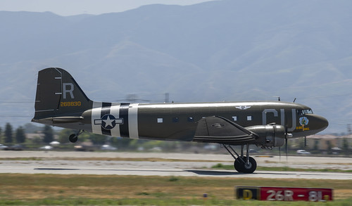 C-47 D-Day Doll Take Off Roll