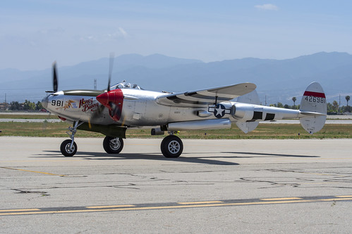 P-38L Honey Bunny on the Ramp