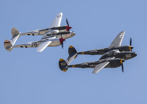P-38 Two Ship Formation