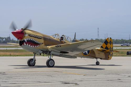 Desert Warhawk on the Ground