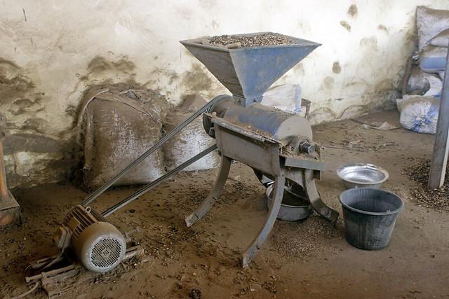 Kita, unité d'extraction d'huile de pourghère promue par Jatropha Mali Initiative