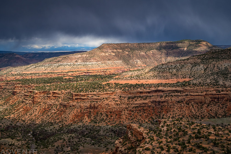 Light Across the Canyon