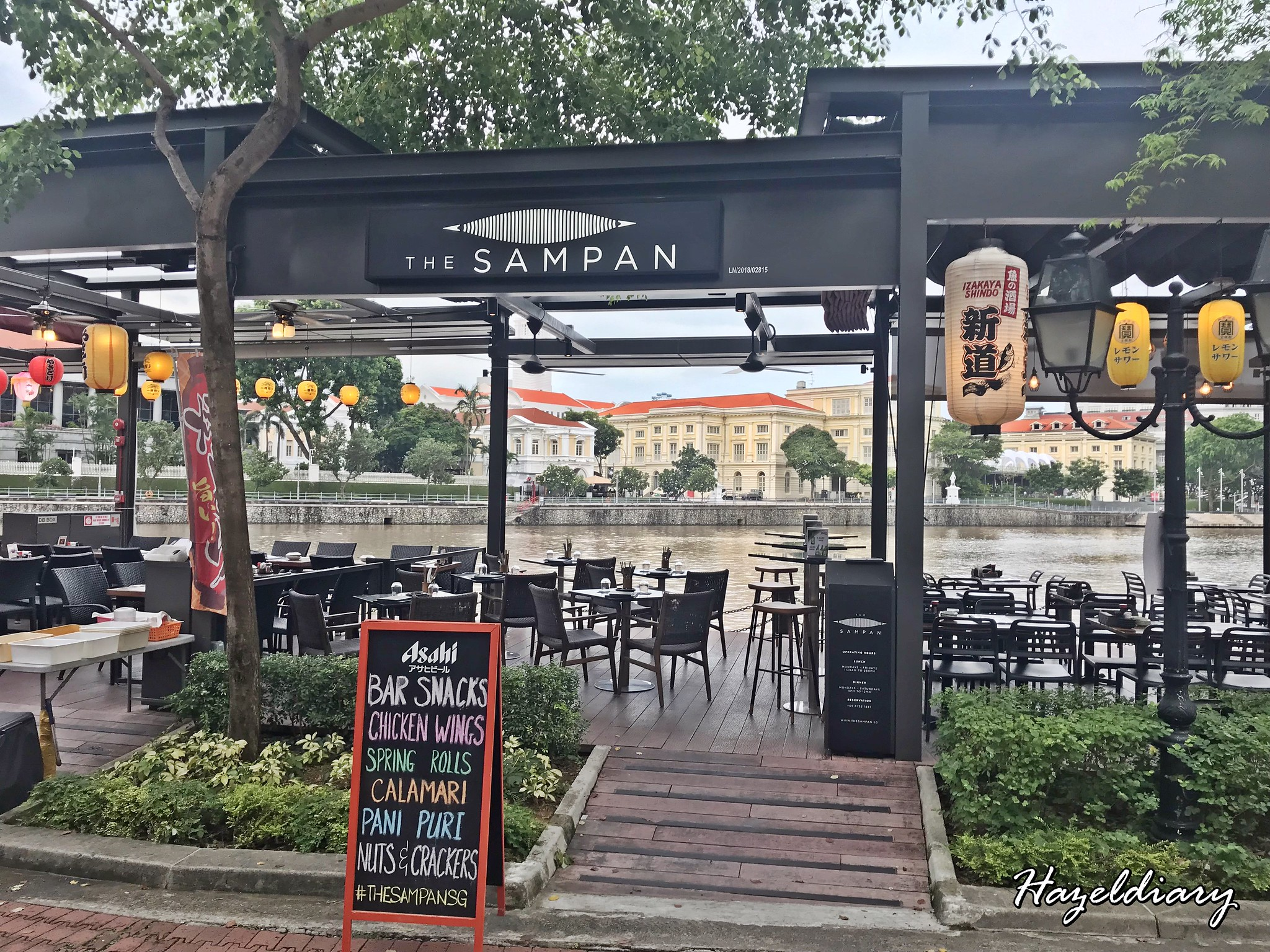 The Sampan Restaurant & Bar Boat Quay-1