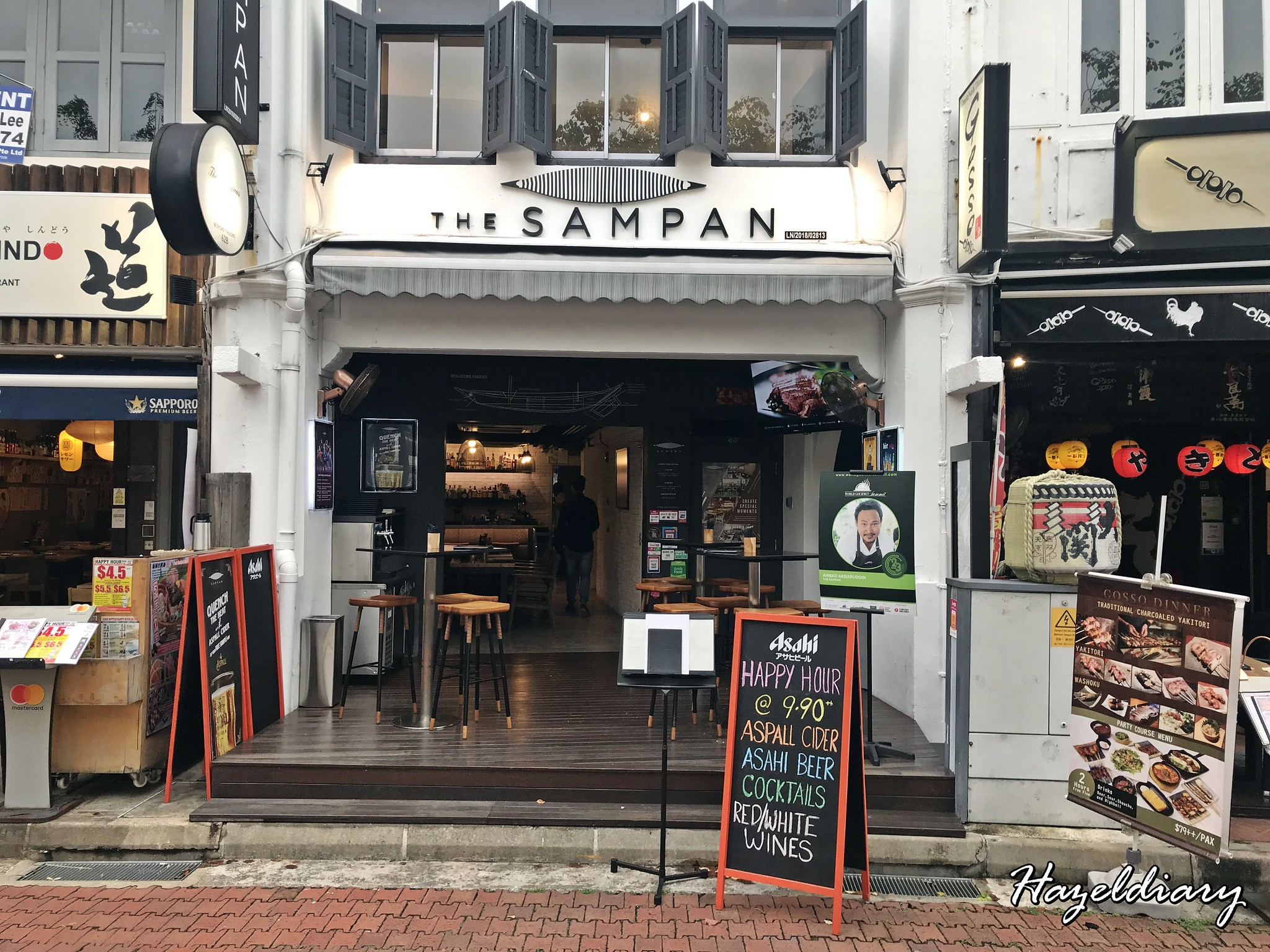[SG EATS] The Sampan – Three-Storey Restaurant & Bar At Boay Quay