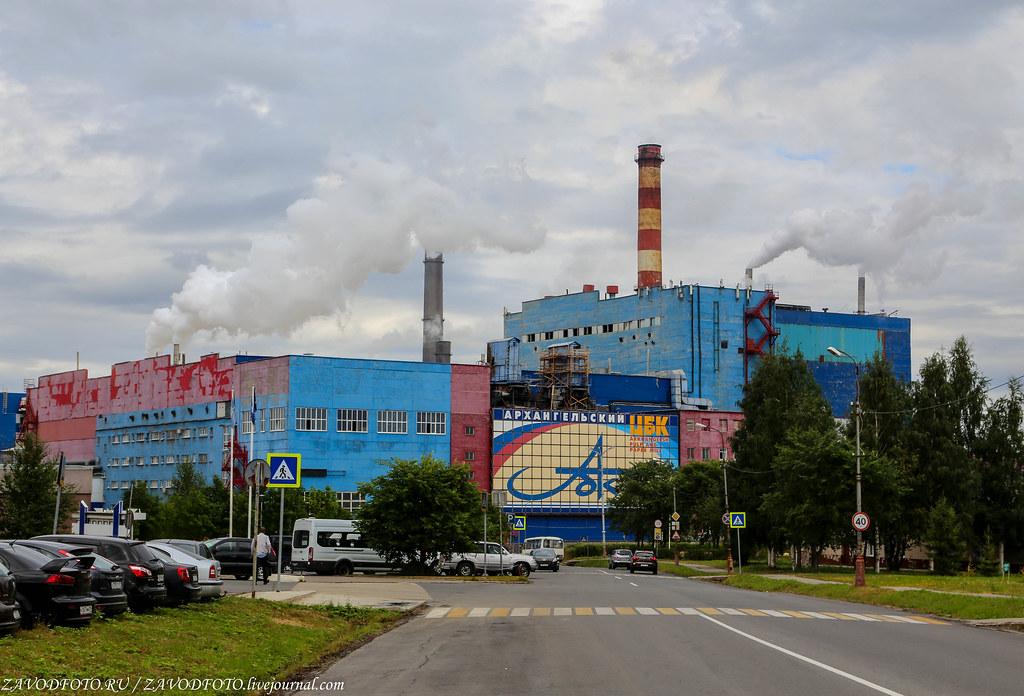 Великие заводы России: Архангельский ЦБК