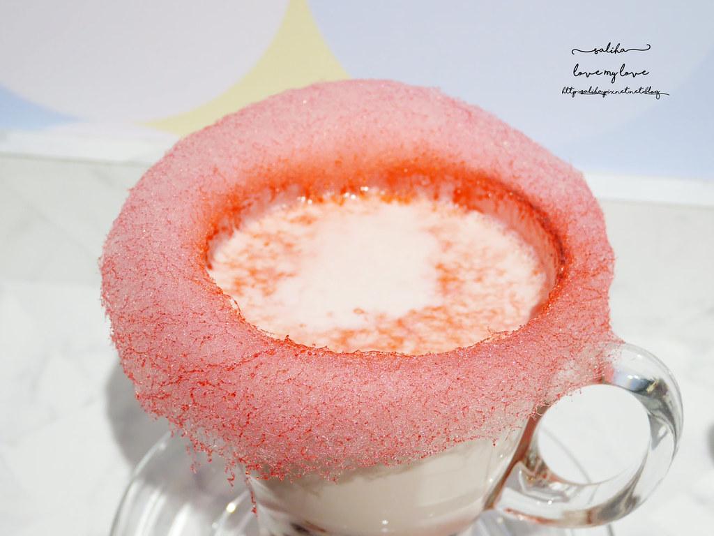 新北板橋ig打卡浮誇系甜點飲品冰品下午茶Chic Chic咖啡廳 (9)