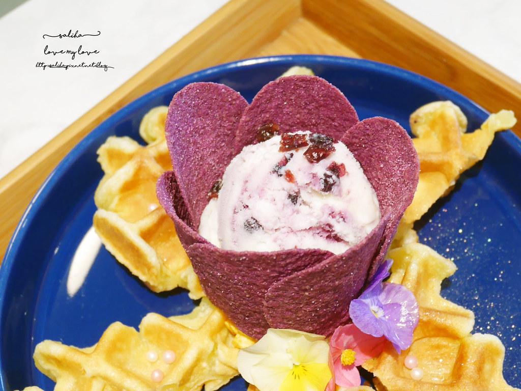 新北板橋Chic Chic夢幻咖啡廳下午茶浮誇系甜點冰品ig打卡美食  (4)