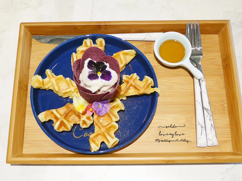 新北板橋Chic Chic夢幻咖啡廳下午茶浮誇系甜點冰品ig打卡美食  (1)