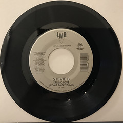 STEVIE B:SPRING LOVE(RECORD SIDE-A)