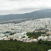 View of Athens from Lycabetus hill