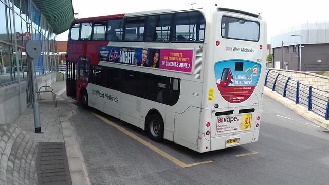 National Express West Midlands 4930 (WN)
