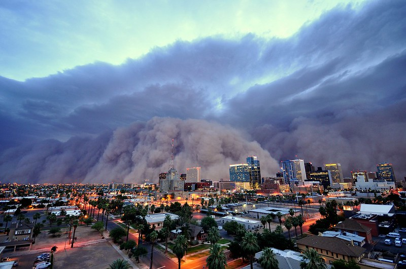 Phoenix Arizona Dust Storm