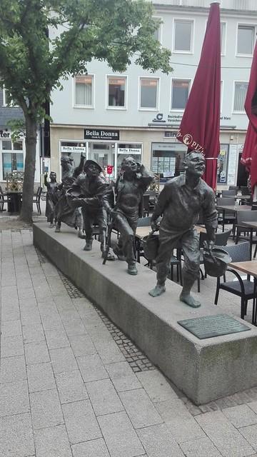 2003 Bad Hersfeld Mückenstürmer von Karin Bohrmann-Roth/Georg Roth Bronze Linggplatz in 36251