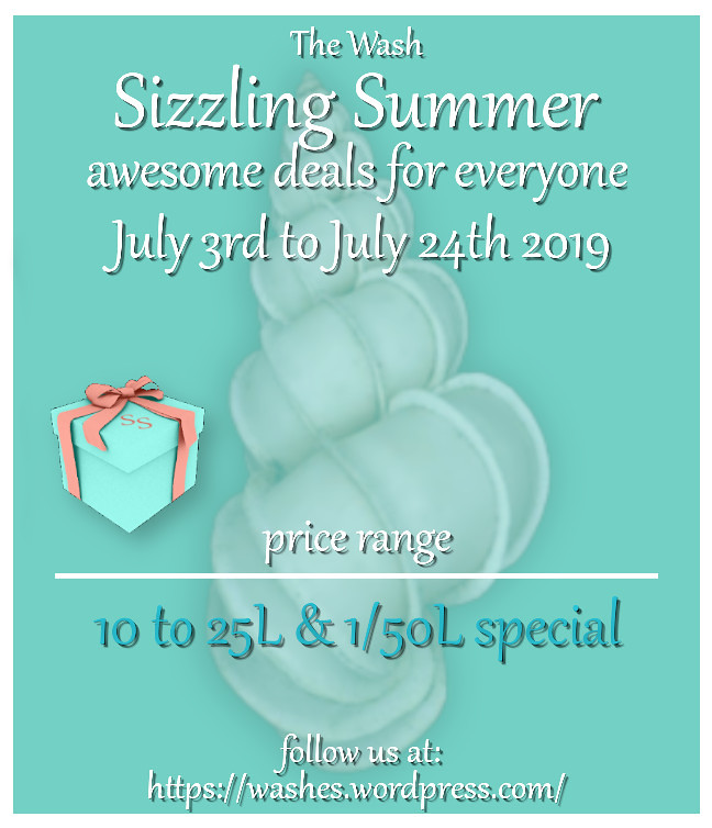 Sizzling Summer July 2016 Poster blue