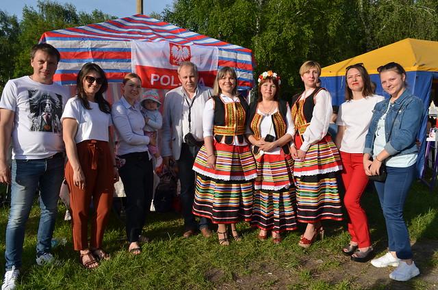 18 Maja 2019 członkowie TKP podczas Dnia Europy w Sumach