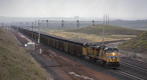 2019-05-09 1645 UP 5371 East Coal Creek Jct, WY