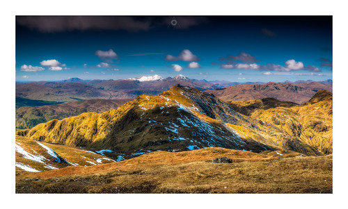 nisifilters benmore bluesky canon clouds glen highlands meallnantarmachan morning mountains munro panorama perthshire scotland snow spring stobbinnein tarmachanridge vanguard