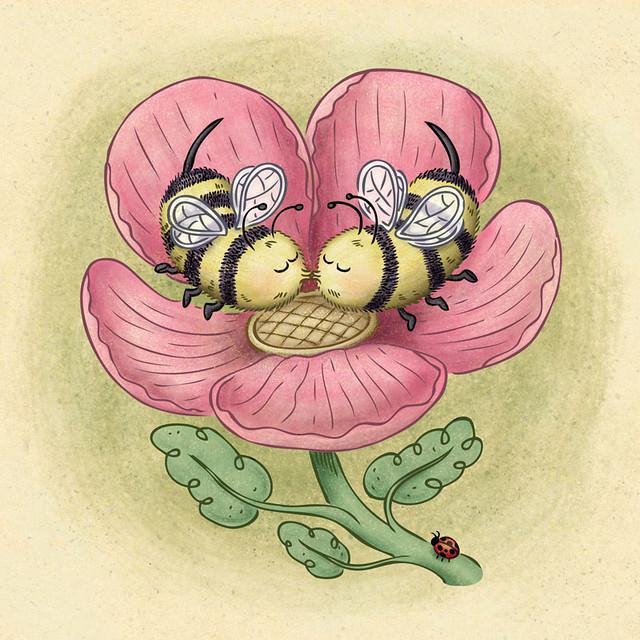 Kissing Bees