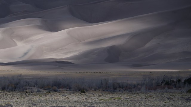 Dunes as a Stormy Sky