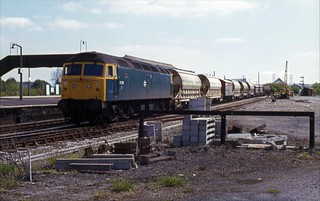 47256 seen at Par during the summer of 1983. I Cuthbertson collection