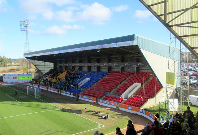 Ormond Stand from Main Stand, McDiarmid Park, Perth