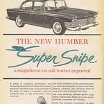 Wed, 2019-05-22 15:34 - Humber Super Snipe 1963