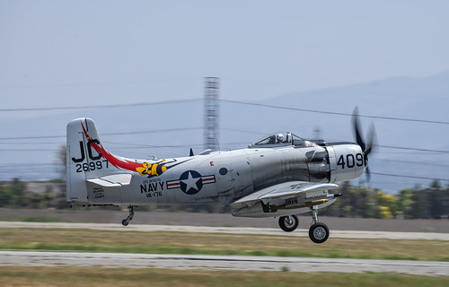 Douglas AD-4NA Take Off