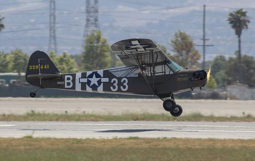 PoF Piper J5 Landing