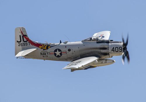 Douglass Skyraider Photo Pass