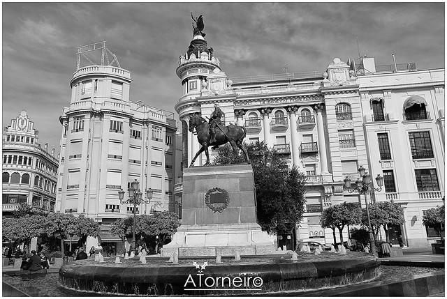 Plaza de las Tendillas en Córdoba