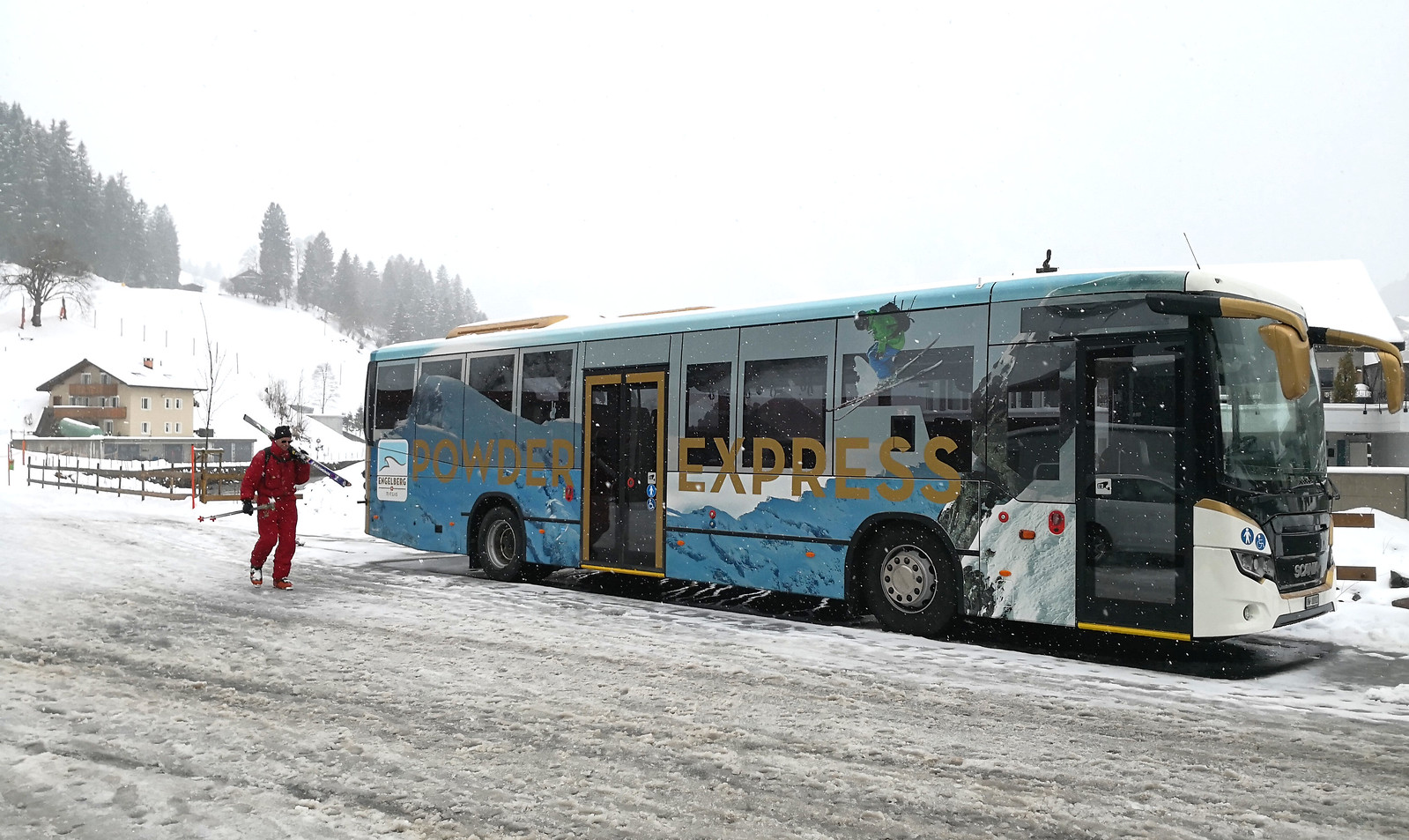 Powder Express bus
