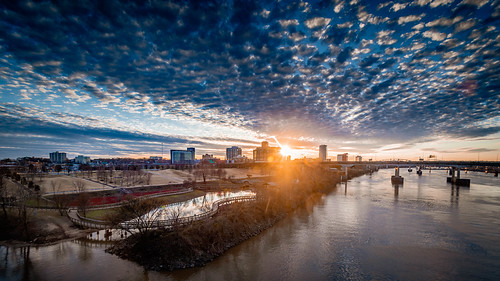arkansas landscape nikon d500 city arkansasoutdoors littlerock 2019 water downtown river arkansasriver naturalstate tamron1024mm